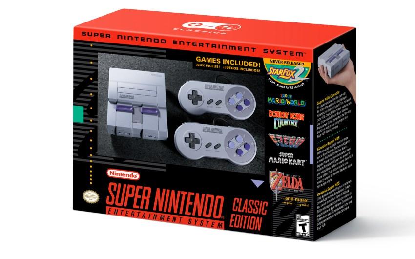 Nintendo incrementa el inventario de Super NES Classic Edition y la NES Classic Edition vuelve el 2018
