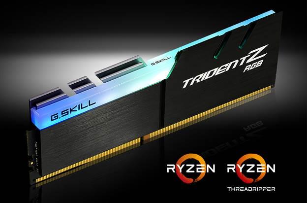 G.SKILL presenta sus nuevos kits TrindetZ RGB compatibles con AMD.