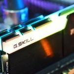 Review G.Skill TridentZ RGB 3200MHz 4x8GB [F4-3200C14Q-32GTZR]