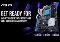 ASUS anuncia soporte para Procesadores AMD Ryzen Raven Ridge con gráficos Radeon Vega