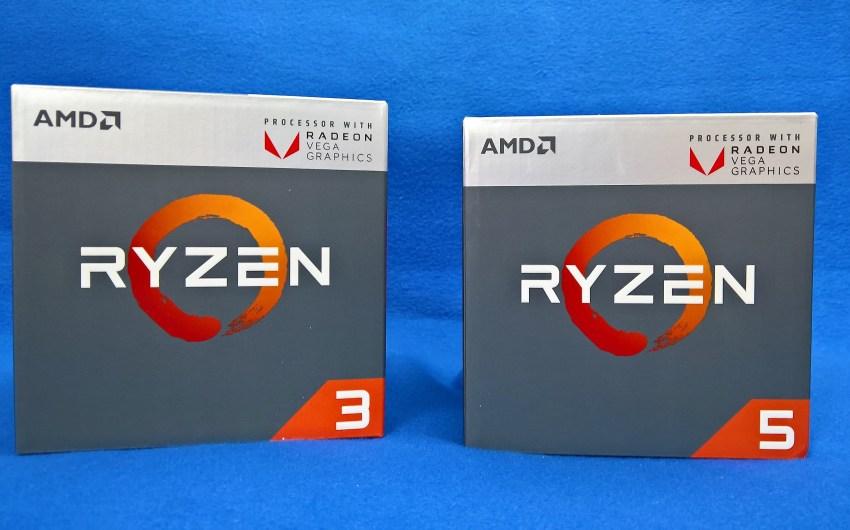 Review AMD Ryzen 5 2400G y AMD Ryzen 3 2200G [AM4]