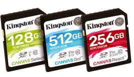 Kingston Digital anuncia nueva serie de tarjetas flash 'Canvas'