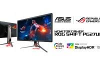 Monitor Gamer ASUS ROG Swift PG27UQ Disponible para Pre-Orden