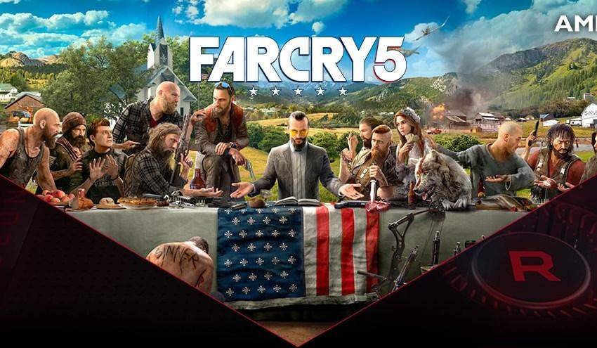 AMD y Ubisoft se unen para entregar HDR y baja latencia en FarCry 5, con FreeSync 2 HDR