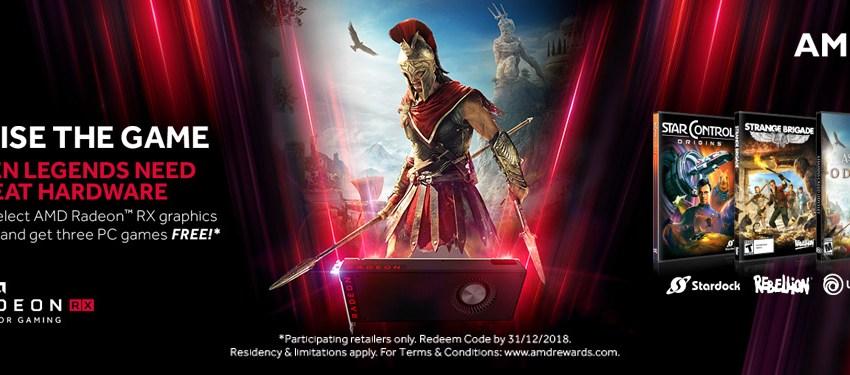 AMD te regala 3 juegos por la compra de tu tarjeta Radeon