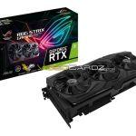 Se filtras imagenes de los proximos modelos de ASUS para la serie NVIDIA GeForce RTX.