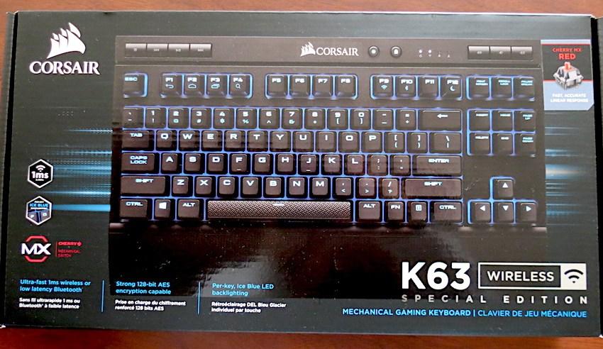 Review Teclado CORSAIR K63 Wireless Special Edition