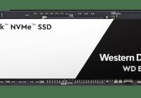 Western Digital presentó su nueva unidad SSD M.2 Black 3D PCIe NVMe