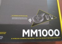 Review Mousepad Corsair MM1000: Con cargador inductivo Qi