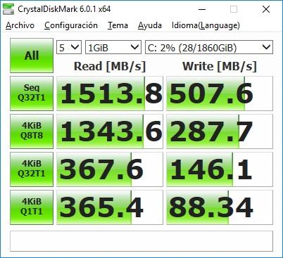 HDD + SSD con StoreMi con Caché