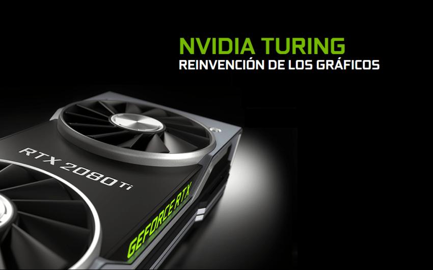 NVIDIA hace oficial sus GPU Turing