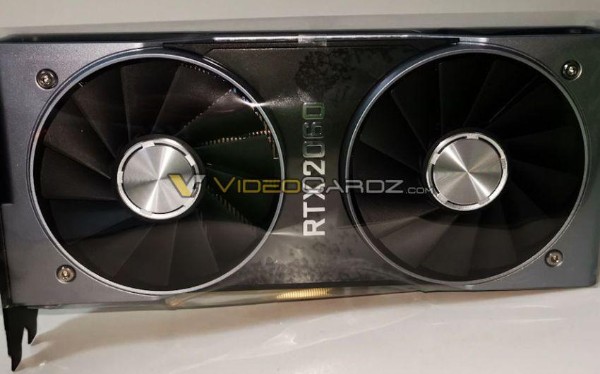 Aparece la NVIDIA GeForce RTX 2060 Founders Edition