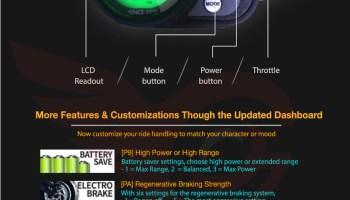 Dualtron Ultra Dashboard