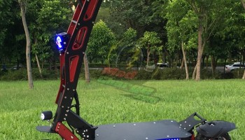FLJ S8 Off Road Electric Scooter Quick Review 2
