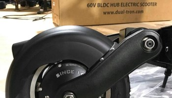 Dualtron Eagle rear tire
