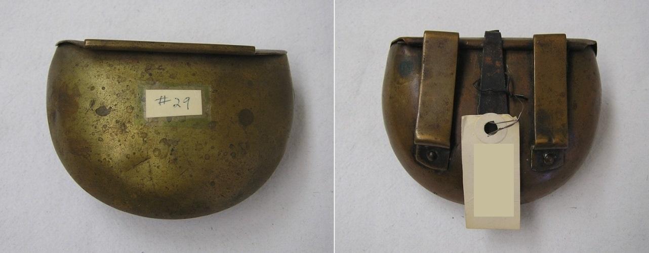 brass cartridge box