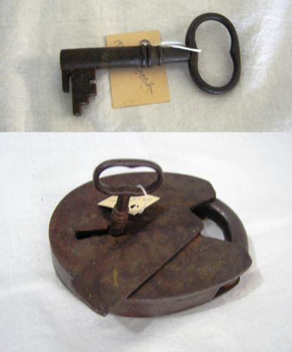 key and padlock