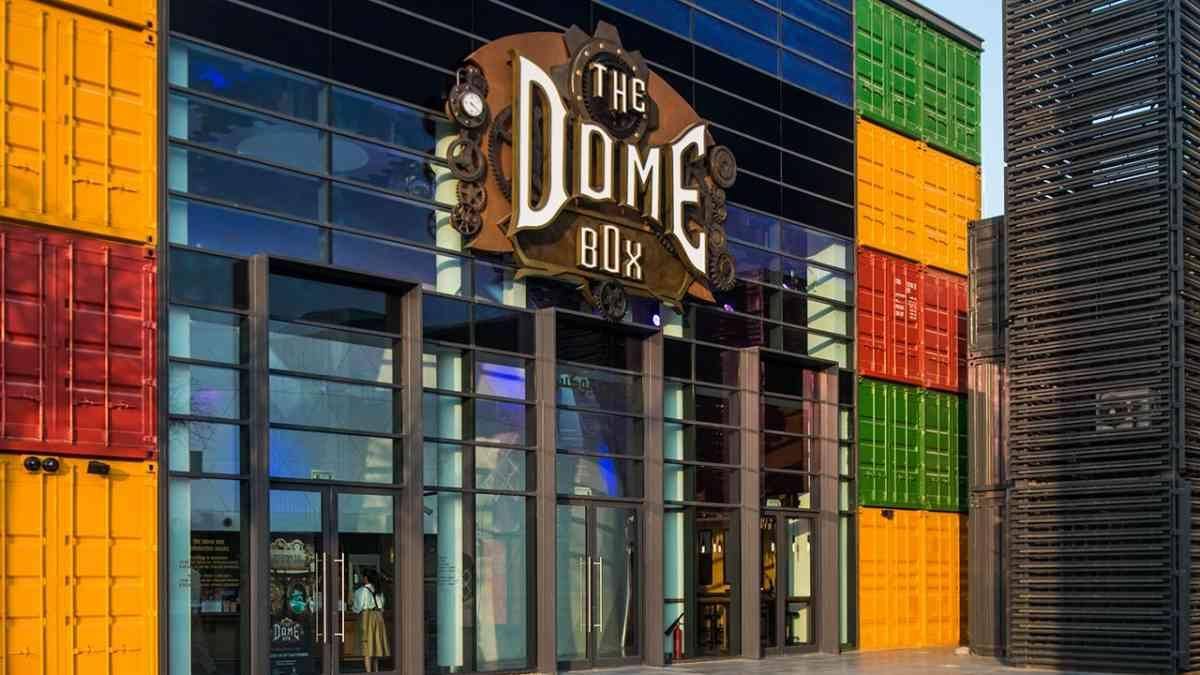 The Dome Box Meraas Dubai 4D 360 Cinema – blooloop