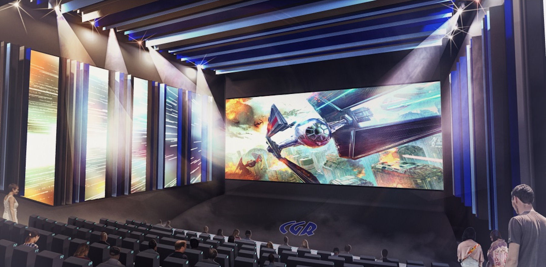 CGR France's New Premium Concept Cinema to be lit by Christie Ultra