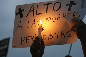 TRIBUTE TO SUPPORT TO MEXICAN JOURNALISTS