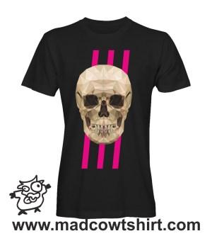 021 teschio4 tshirt nera uomo