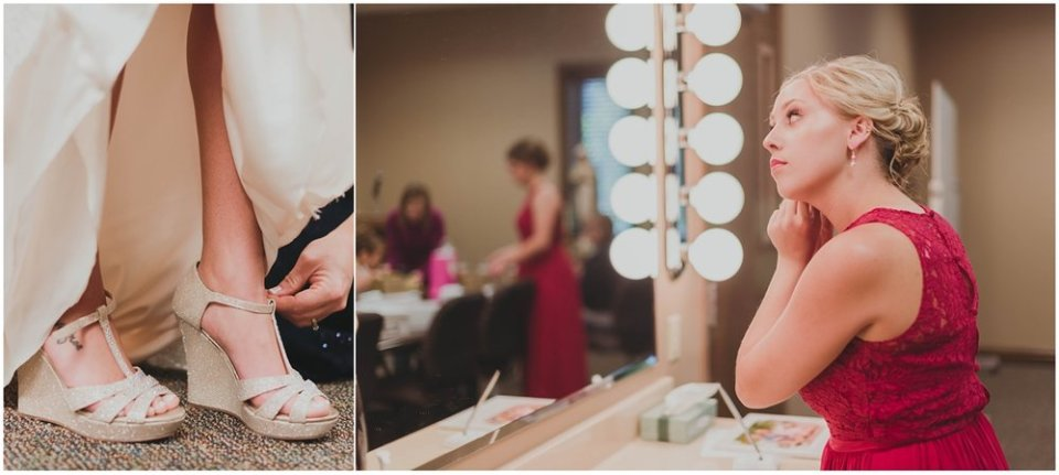 Bridal party getting ready photos | Maddie Peschong Photography