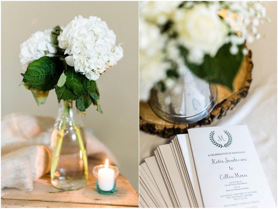 Fall South Dakota Wedding Decor | Maddie Peschong Photography