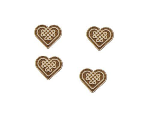 Celtic Knots 01 Engraved Wood Cabochons