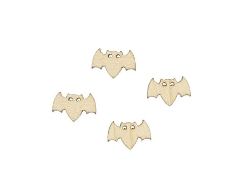 Bats 01 Blank Wood Cabochons
