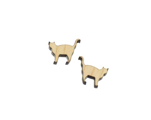 Cats Blank Wood Cabochons