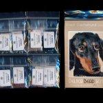black dachshund dog small panel peyote seed bead pattern pdf or kit diy maddiethekat designs 2