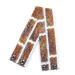 Brick Wall Slim 2-Drop Peyote Seed Beaded Bracelet-Maddiethekat Designs