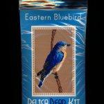 Eastern Bluebird Larger Panel Peyote Seed Bead Pattern PDF or KIT DIY-Maddiethekat Designs