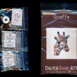giraffe brick stitch seed bead pattern pdf or kit maddiethekat designs 2