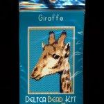Giraffe Small Panel Peyote Bead Pattern PDF or KIT DIY-Maddiethekat Designs