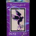Hummingbird - Simple - Small Panel Peyote Bead Pattern PDF or KIT DIY Bird-Maddiethekat Designs