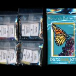 monarch butterfly small panel peyote seed bead pattern pdf or kit insect maddiethekat designs 2