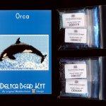 Orca Small Panel Peyote Bead Pattern PDF or KIT DIY Whale-Maddiethekat Designs