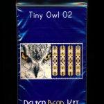 Owl 02 Tiny Mini Amulet Bag Peyote Seed Bead Pattern or KIT DIY Bird-Maddiethekat Designs