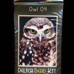 Owl 04 Larger Panel Peyote Seed Bead Pattern PDF or KIT DIY Bird-Maddiethekat Designs