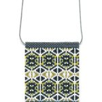 Owl Peyote Beaded Necklace Mini Amulet Bag-Maddiethekat Designs