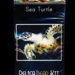 Sea Turtle Larger Panel Peyote Bead Pattern PDF or KIT DIY-Maddiethekat Designs