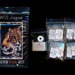 wild cat series jaguar small panel peyote seed bead pattern pdf or kit diy maddiethekat designs 2
