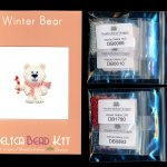 Winter Bear Brick Stitch Seed Bead Pattern PDF or KIT DIY Polar-Maddiethekat Designs