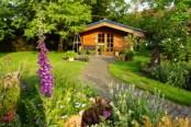 abri chalet jardin