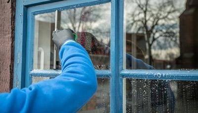 nettoyage vitre facilement