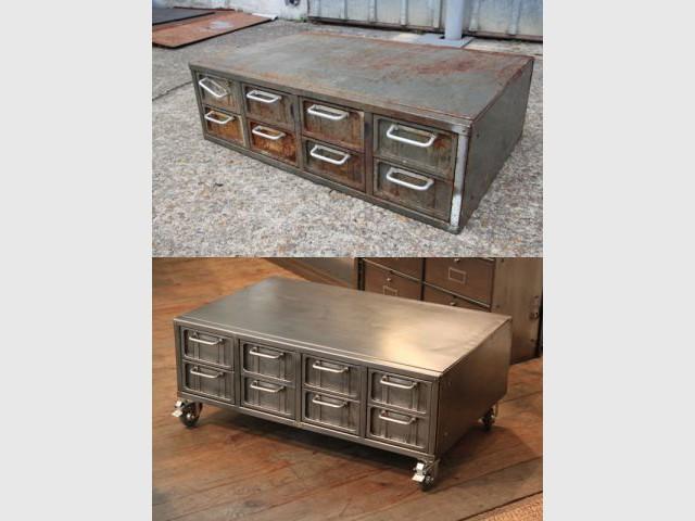 renover un meuble industriel