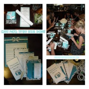 Wordless Wednesday: Photos from a Tiffany Inspired Bridal Shower