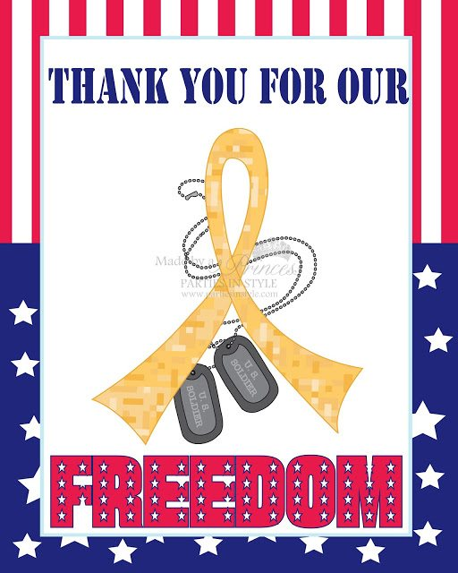 FREE PRINTABLE Memorial Day Poster