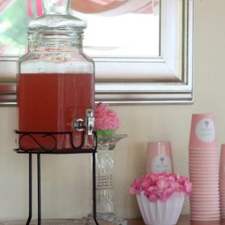 Non-Alcoholic Sparkling Pink Party Punch